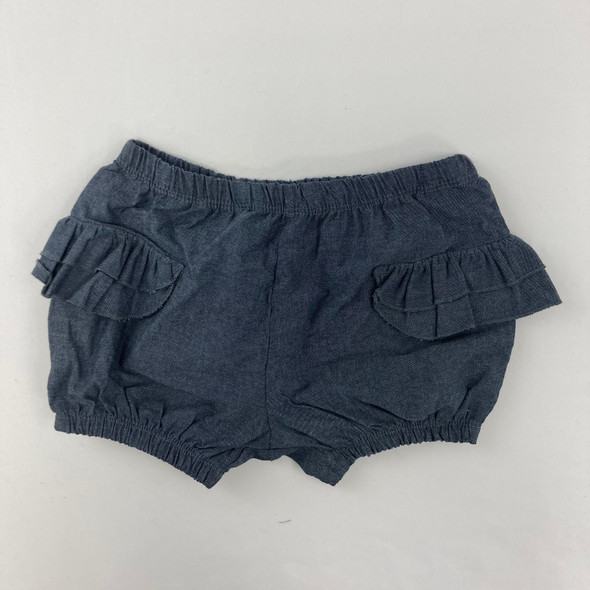 Dark Chambray Shorts 24 mth
