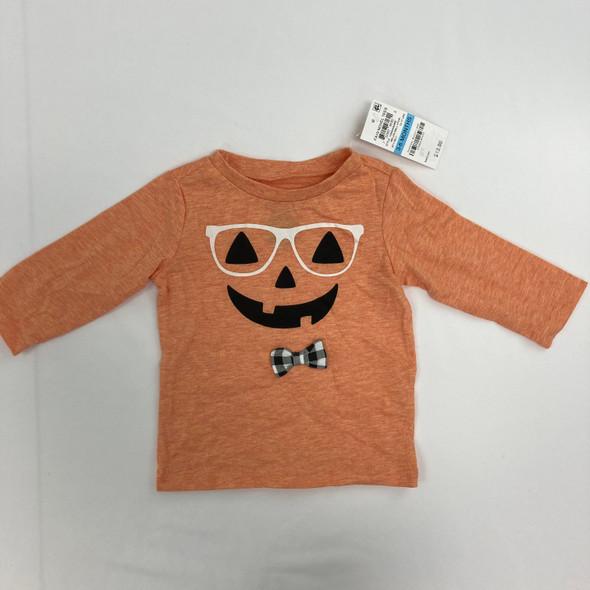 Hipster Pumpkin Tee 3-6 mth