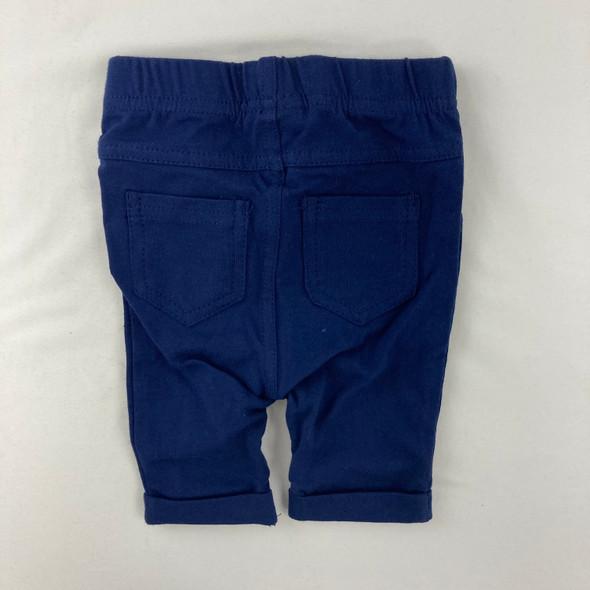 Navy Bermuda Shorts 3-6 mth