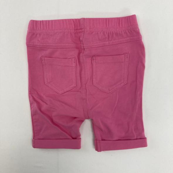 Pink Bermuda Shorts 6-9 mth