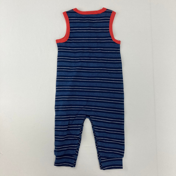 Navy Stripe 1pc 18 mth