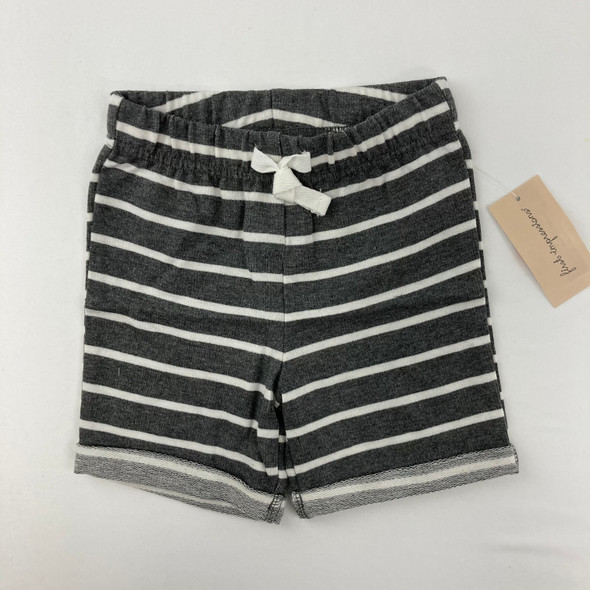 Gray Stripe Shorts 18 mth