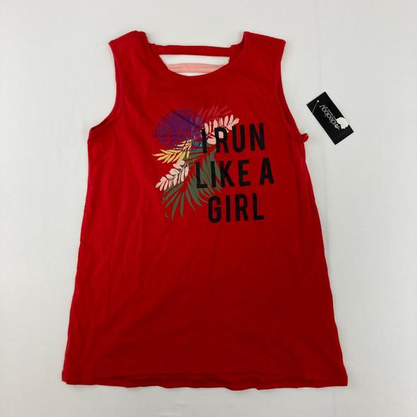 Run Like A Girl Tank 14 yr