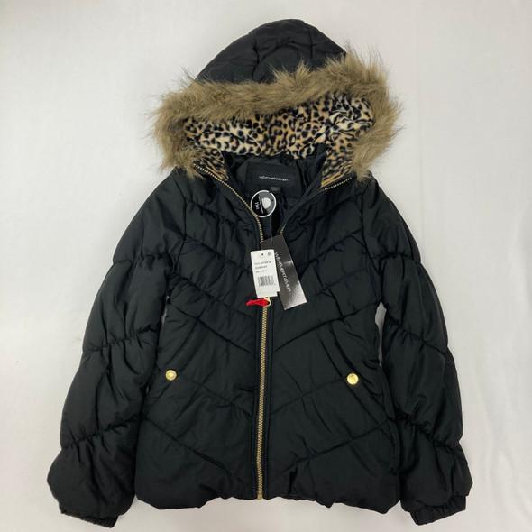 Chevron Quilt Puffer Jacket M 10-12 yr