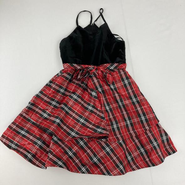 Plaid Red Dress 10 yr