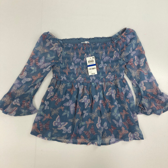 Butterfly Off The Shoulder Top XL
