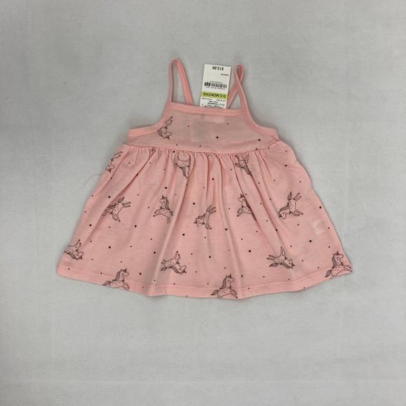 Unicorn Dress 0-3 mth