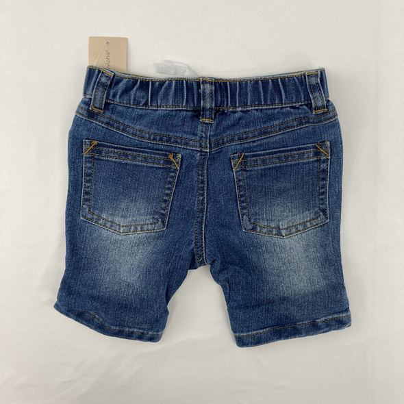 Blue Denim Shorts 6-9 mth