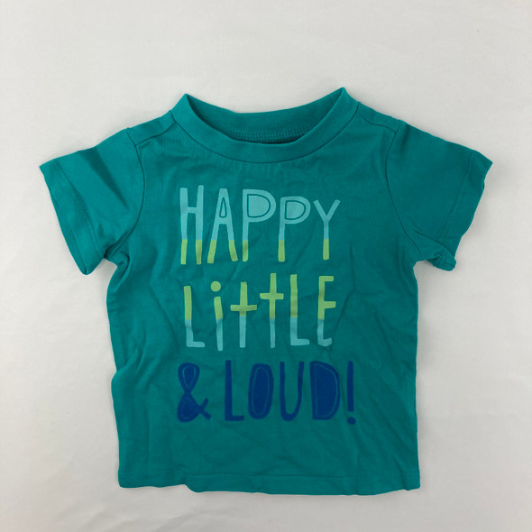 Little and Loud Tee 12 mth