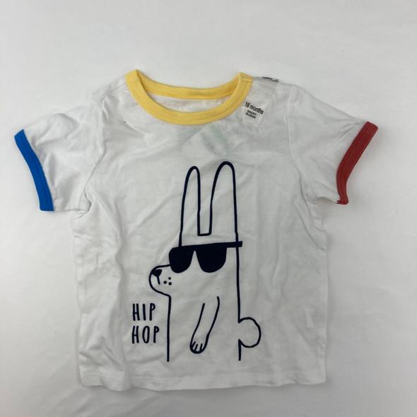 Hip Hop Bunny Tee 18 mth