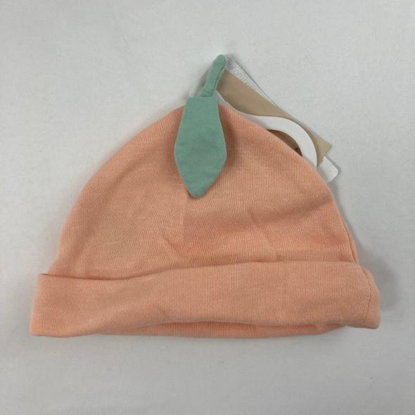 Peach Hat 12-24 mth