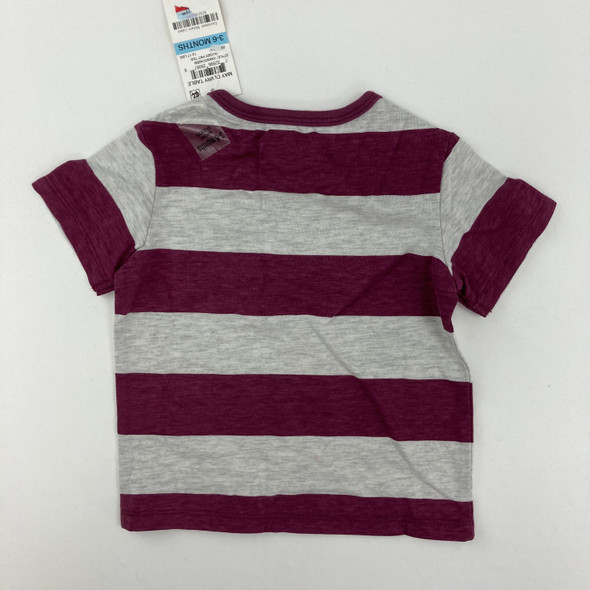 Rugby Pocket Tee 3-6 mth