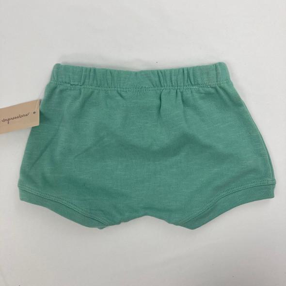 Light Jade Shorts 3-6 mth