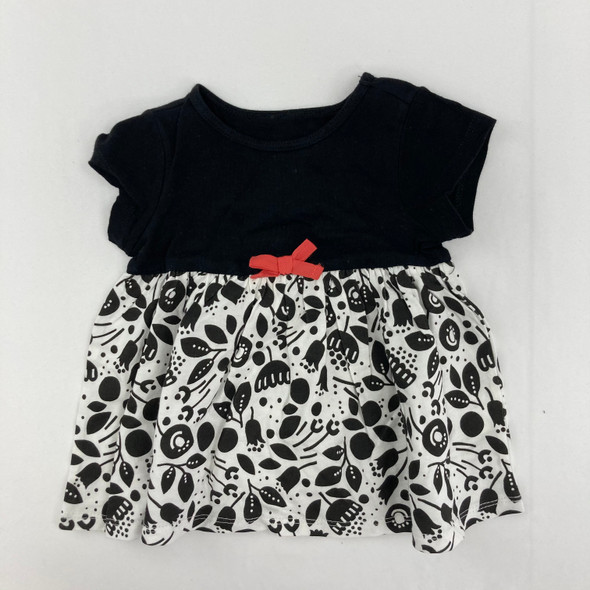 Black Tulip Dress 6-9 mth