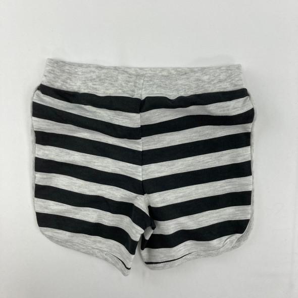 Gray Stripe Shorts 12 mth