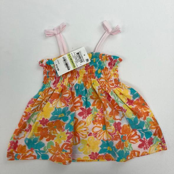 Tropical Dress 0-3 mth