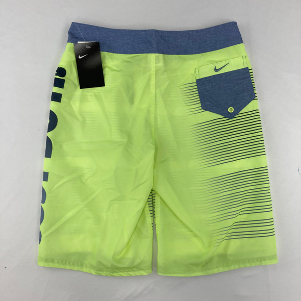 Neon just do it swim trunks XL