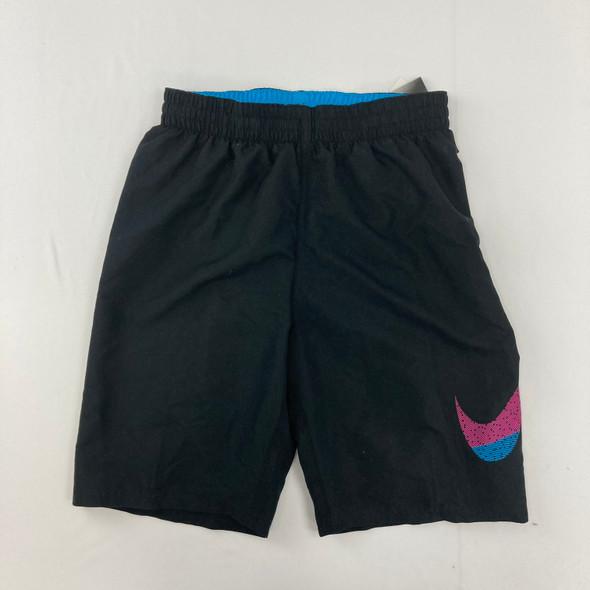 Nike Black Swim Shorts 13-15 yr