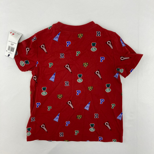 Polo Red Tee 2T