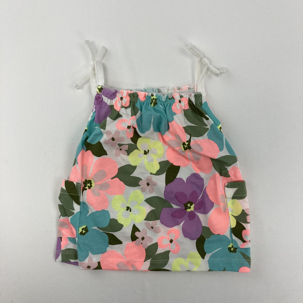 Floral Tank 6 mth