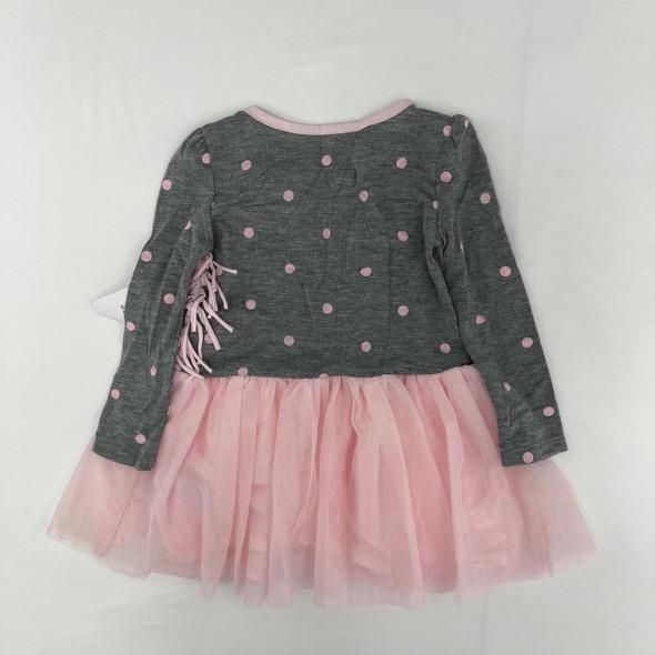 Unicorn Fringe Dress 2T
