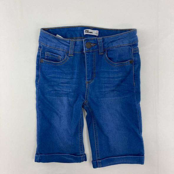 Blue Denim Shorts 8 yr