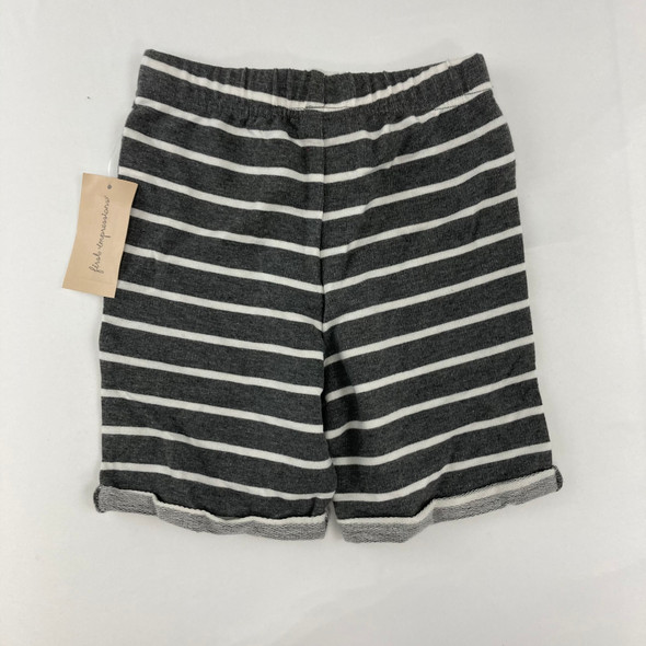 Heather Striped Shorts 3T