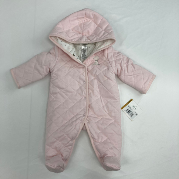 Quilted Dog Snowsuit 0-3 mth
