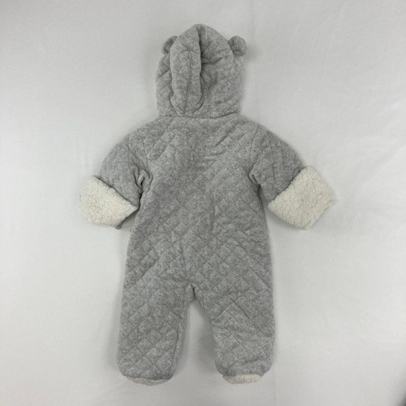 Gray Bear Snowsuit 3-6 mth