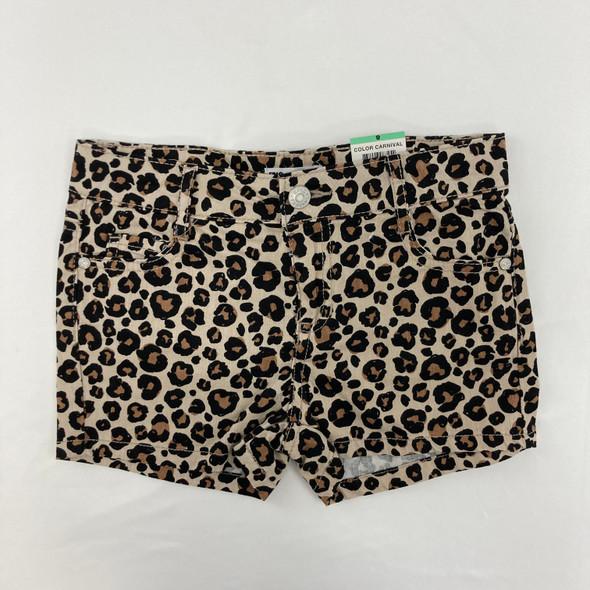 Cheetah Shorts 8 yr