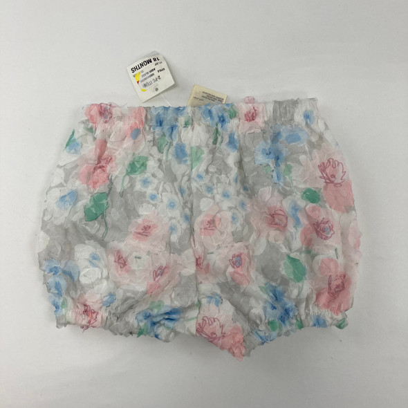 Lace Floral Shorts 18 mth