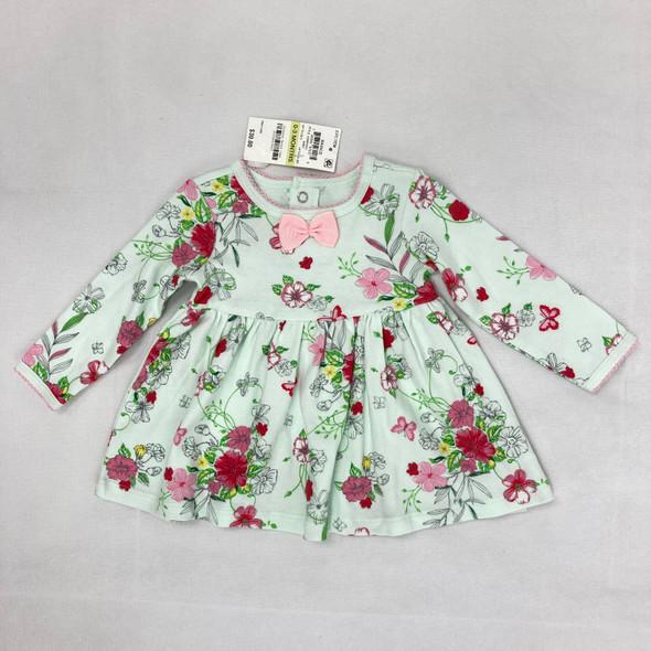 Flower Dress 0-3 mth