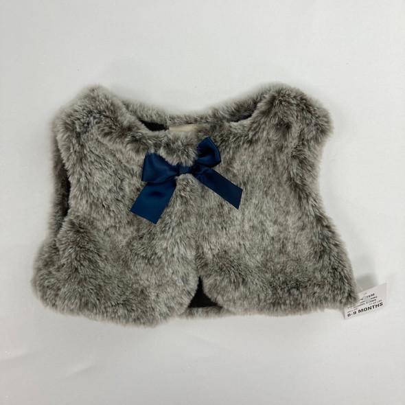 Furry Vest 6-9 mth