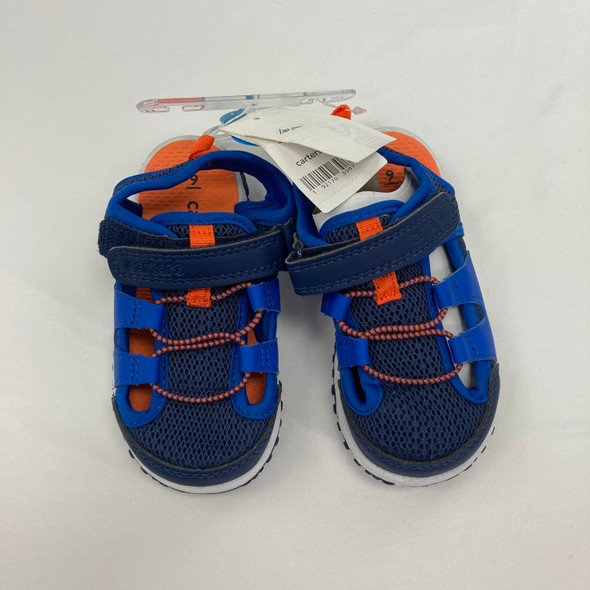 Navy Sandals 9