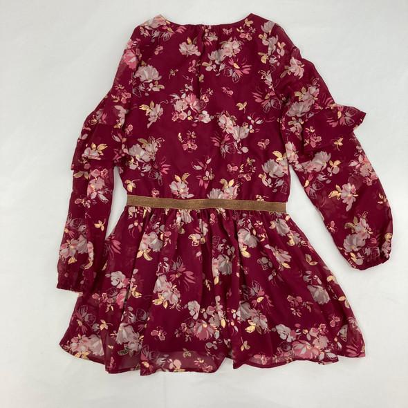 Shimmer Floral Dress Large