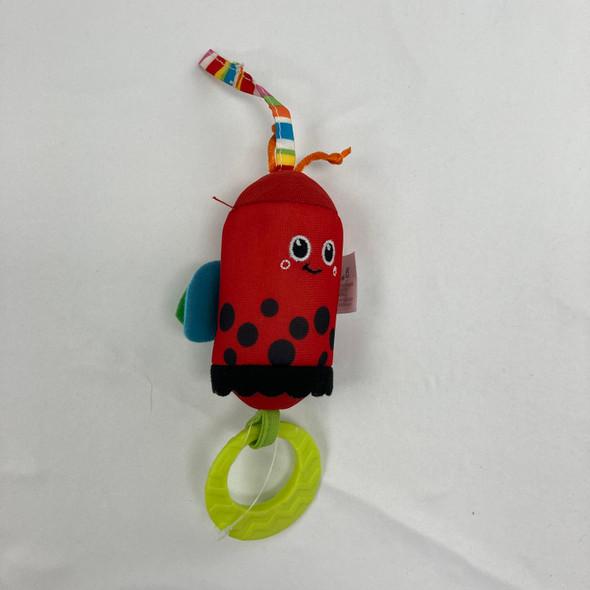 Ladybug Rattle Toy