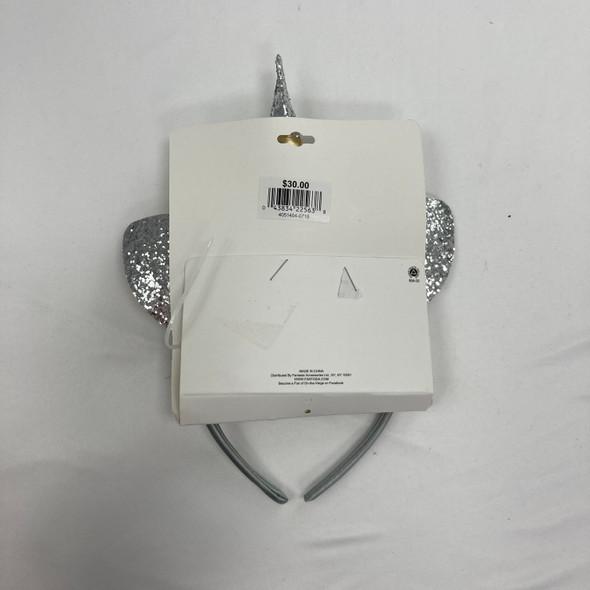 Silver Sequin Unicorn Headband