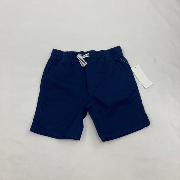 Striped Pull Tie Khaki Shorts 4T