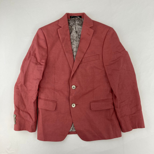 Coral Paisley Suit Jacket 10 yr