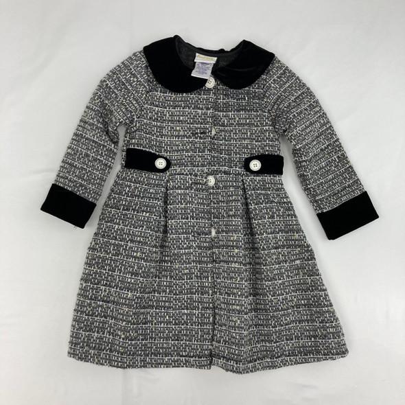 Textured Dress Coat 4T