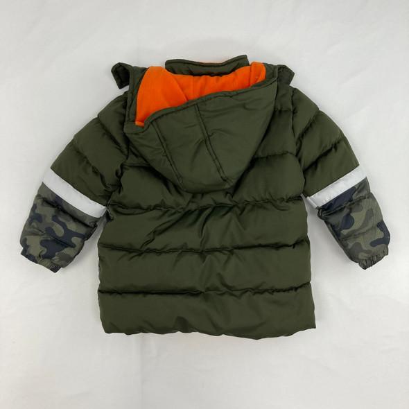 Camouflage Winter Jacket 3T