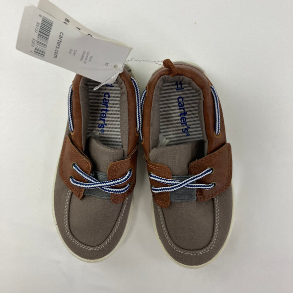 Brown Slip On Shoes 11