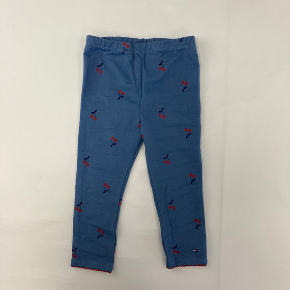 Cherry Blue Leggings 24 mth