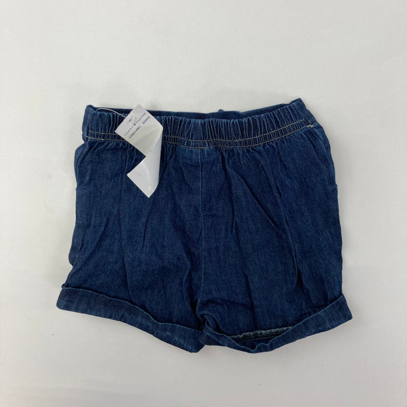 Denim Blue Shorts 6-9 mth