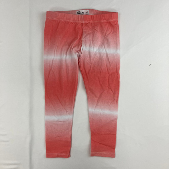 Ombre Coral Leggings 3T