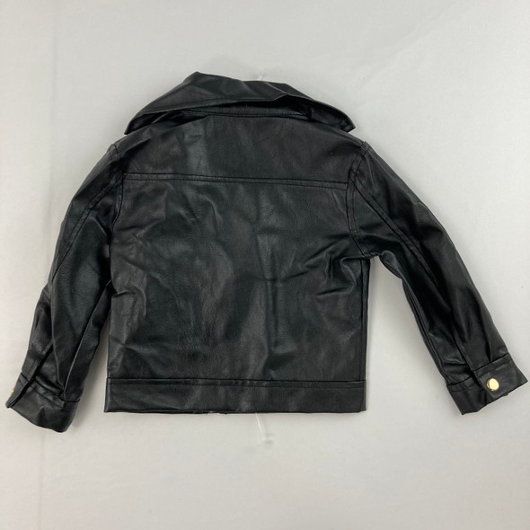 Faux Leather Jacket 2T