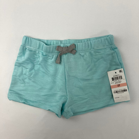 Solid Blue Shorts 2T