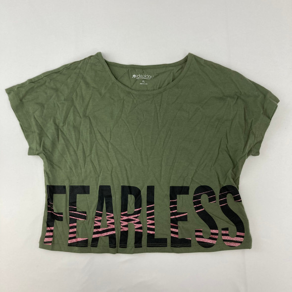 Fearless Crop Top 16 yr