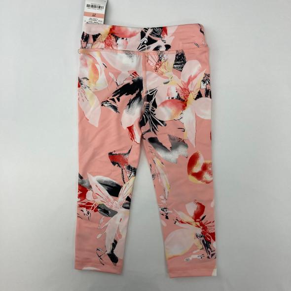 Floral Printed Leggings 2T