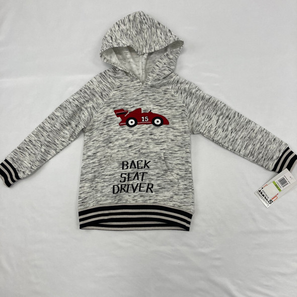 Back Seat Driver Hoodie 4T